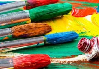 Το εργαστήρι ζωγραφικής ξεκίνησε!!